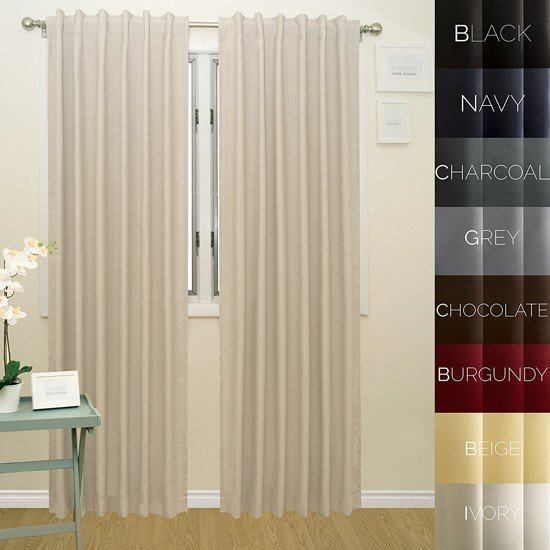 Prestige Home Fashion Thermal Insulated Blackout Curtain