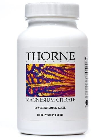 Thorne Research Magnesium Citrate Capsules
