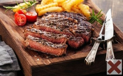 Red Meat - The Worst Bedtime Foods for Weight Loss