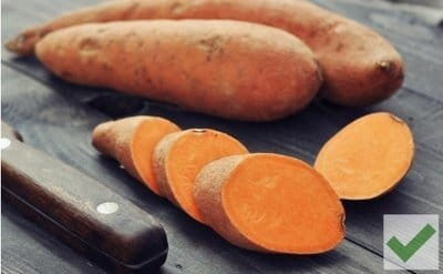 Sweet Potatoes - The Best Bedtime Foods for Weight Loss